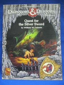 Dungeons & Dragons Adv QUEST FOR THE SILVER SWORD