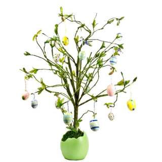 Easter Egg Tree, Easter Decorations, Egg Ornaments Decoration