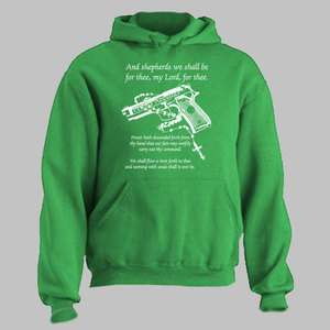 BOONDOCK SAINTS ~ HOODIE Gun Rosary Prayer boon dock ALL SIZES AND