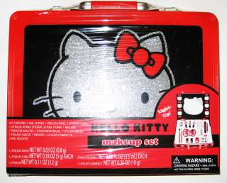 NEW Cute Emo Scene Japan Kawaii Sanrio Red Hello Kitty Cosmetic Makeup
