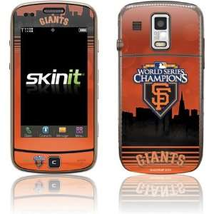 San Francisco Giants   World Series Champions 10 skin for