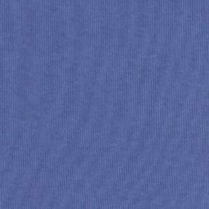 56 Wide Rib Knit French Blue Fabric By The Yard: Arts