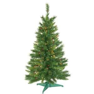Imperial Pine Artificial Christmas Tree   Multi Lights