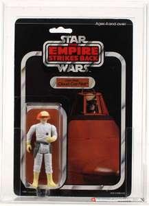 Star Wars Vintage ESB Cloud Car Pilot No offer AFA 80*