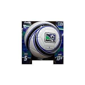 Franklin MLS Size 5 Soccer Ball   White