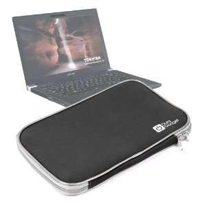 Black Neoprene Laptop Case For Toshiba Tecra M11 & R840 Electronics