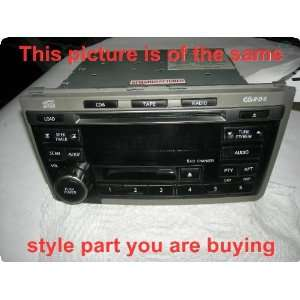 Radio  INFINITI I35 02 04 receiver, AM FM stereo cassette CD, Bose