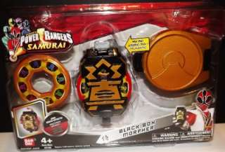 Power Rangers Samurai   BLACK BOX MORPHER   #31781