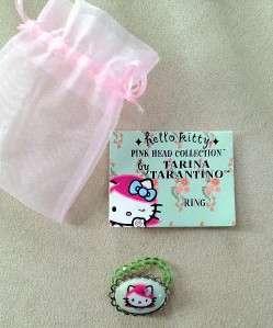 TARINA TARANTIO HELLO KITTY PINK HEAD RING