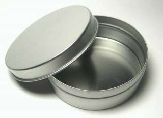 Blank Round Metal Tin Box Survival Kit Containers #5