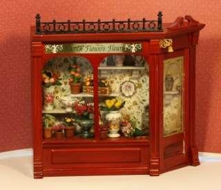 Clearance  Damaged Reutter Porcelain Flower Shop Display Box