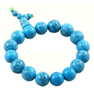 Tibetan Turquoise Prayer Beads Wrist Mala: Arts, Crafts & Sewing