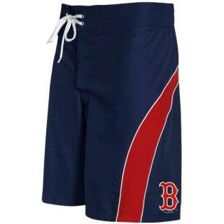 Boston Red Sox Navy Blue Red Color Block Boardshort   XXL 700291558364