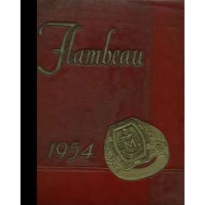 1954 Yearbook Staff of Marquette University High School Books