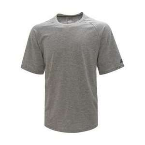 Russell Dripower Cotton Hand Tee Mens   Black Large