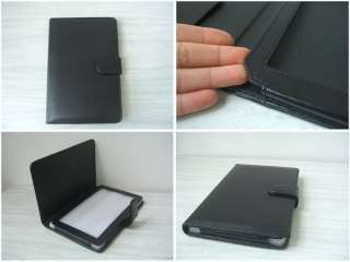 Brand New Black Leather case cover for Nook Color Tablet Great Quality