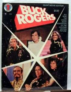 1979 Marvel BUCK ROGERS Giant Movie Edition Comic Book