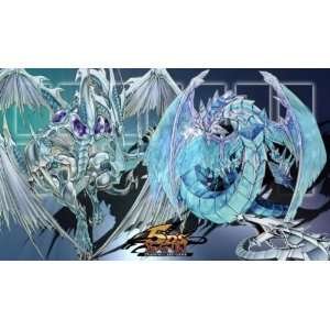 Yugioh STARDUST BRIONIC CYBER DRAGON Playmat Game Mat [Toy