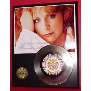 Gold Record Outlet Reba McEntire 24kt Gold Record Display