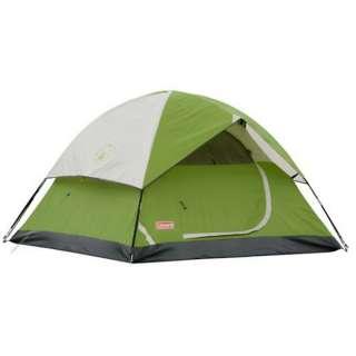 BRAND NEW COLEMAN Sundome 3 Person Camping Outdoor Tent Green 7 Feet