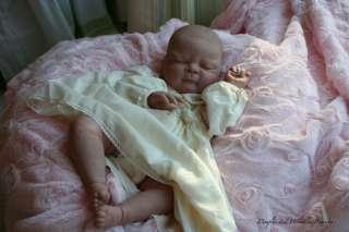 REBORN BABY GIRL * LIFELIKE DOLL ART* PAINTED HAIR* BIG CHUBBY LIBBY