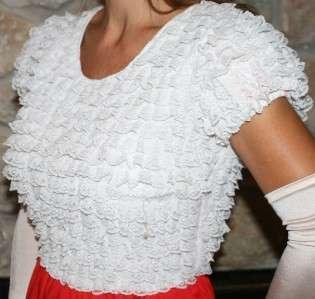 SWEEPING ROCKABILLY VINTAGE SQUARE DANCE SLIP SKIRT PETTICOAT Dress M
