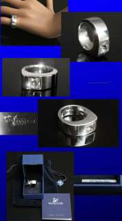 SWAROVSKI Ladies STERLING SILVER / CRYSTAL RING (7)