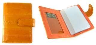 Eel Skin Business Credit Business card Holder Wallet