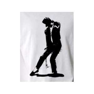 Michael Jackson 2   Pop Art Graphic T shirt (Mens Small