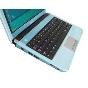 Dell Inspiron Mini 9 Series Laptop Blue Silicone Skin for