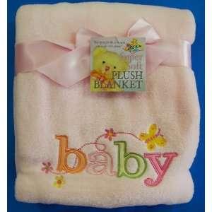 Owen Super Soft Baby Blanket, Pink Baby