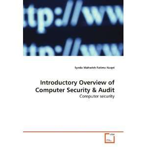 Computer Security (9783639154047): Syeda Mahwish Fatima Naqvi: Books
