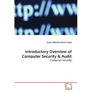 Computer Security (9783639154047): Syeda Mahwish Fatima Naqvi: Books