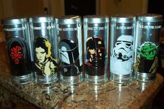 BURGER KING STAR WARS WATCH COLLECTION. COMPLETE SET OF SIX NEW