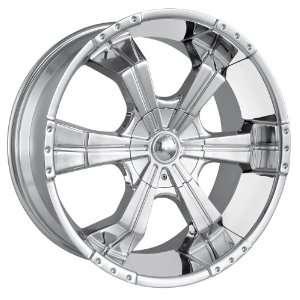 22x9.5 MPW Style MP204 (Chrome) Wheels/Rims 6x135/139.7