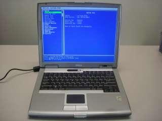 DELL LATITUDE D510 PP17L Laptop Pentium M, 1.73 GHz, 1 GB RAM, 15