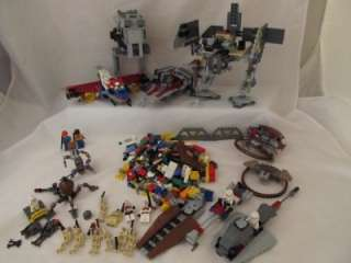 Mixed Lego Star Wars Sets Bricks Mini Figs Droid Clones Storm Troopers