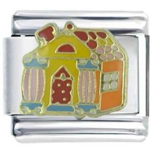 Italian Charm Halloween Candy House Christmas Gift: Pugster: Jewelry