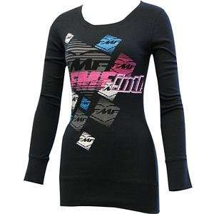 FMF Apparel Womens Candy Striper Long Sleeve T Shirt   8