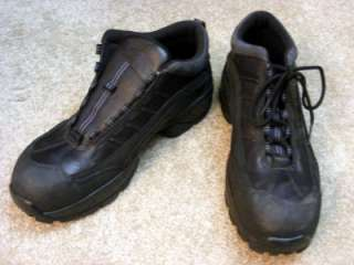 Red Wing 6686 black athletic safety shoe size 11 1/2 mens excellent