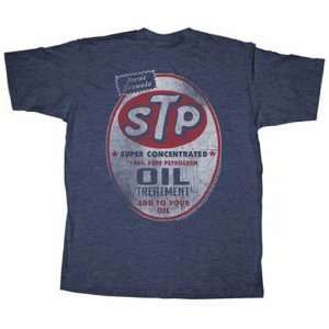 STP MOTOR OIL LICENSED ADVERTISING SHIRT MENS LARGE CLASSIC RETRO OIL