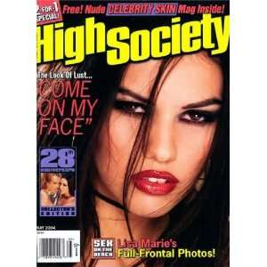Collection with Fre Celebrity Skin Magazine: High Society: Books