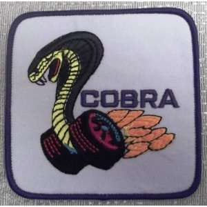 FORD Mustang Shelby Cobra Car Truck Embroidered PATCH