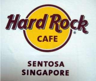 Hard Rock Cafe SENTOSA SINGAPORE Logo T Shirt   S