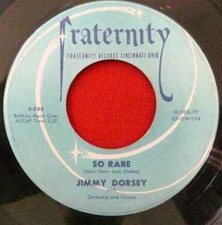 JIMMY DORSEY & HIS ORCHESTRA FRATERNITY F 755 SO RARE
