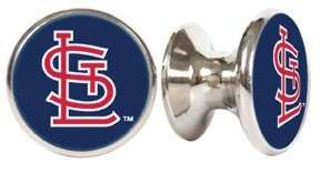 ST. LOUIS CARDINALS MLB DRAWER PULLS / CABINET KNOBS