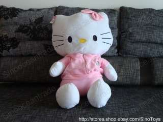 GIANT HELLO KITTY CAT IN PINK SPORTS WEAR LARGE TOY 35
