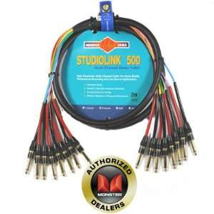 MONSTER CABLE Multi Channel Audio Snake Cables; 8 Channel