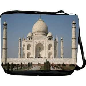 Rikki KnightTM Taj Mahal Messenger Bag   Book Bag   Unisex