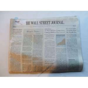 The Wall Street Journal Thursday, October 13, 2005 (BATTLE